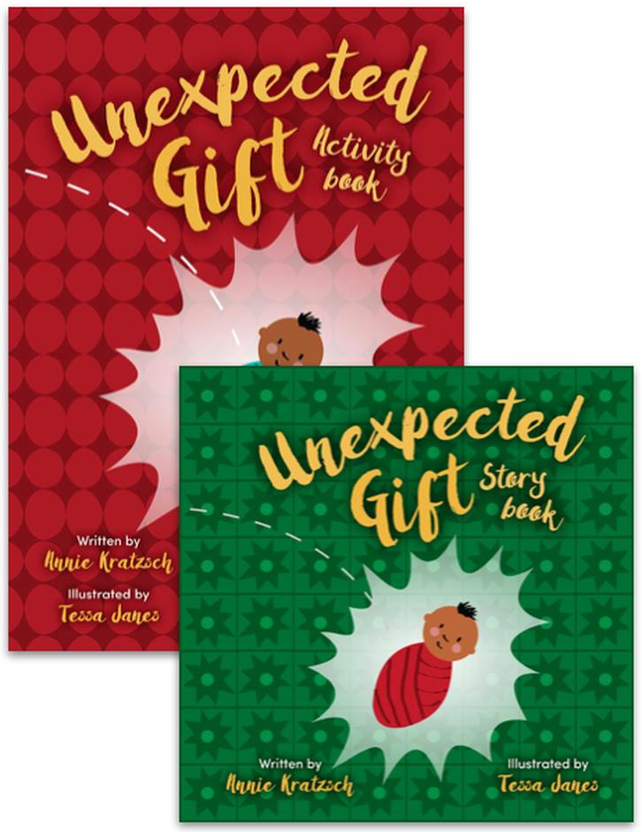 Unexpected Gift Story Book and Activity Book